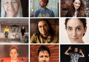 9 photos of Inn Crowd resident poets